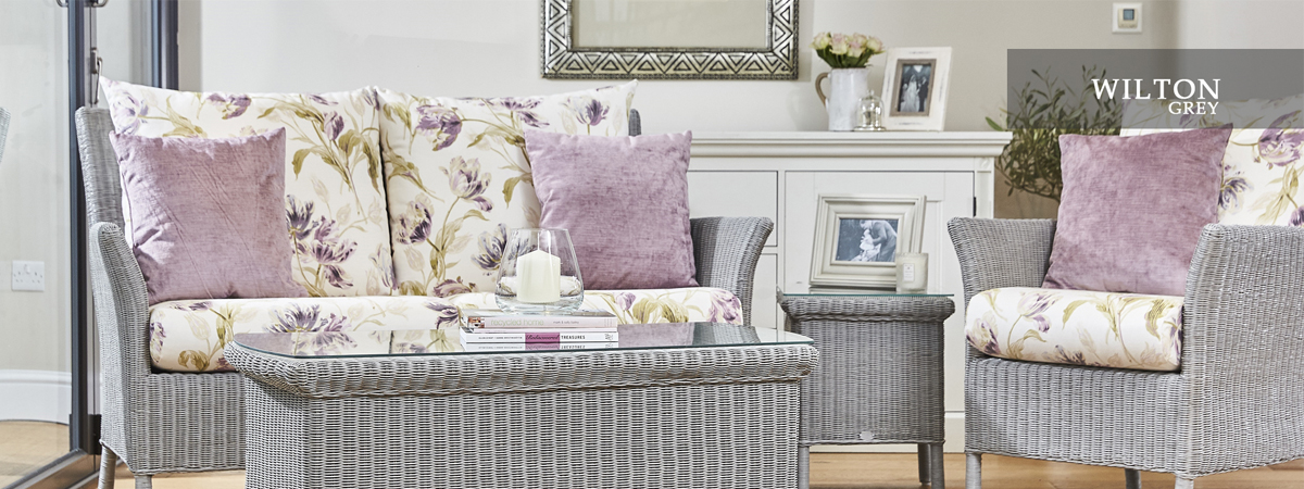 Laura Ashley Wilton Grey Banner
